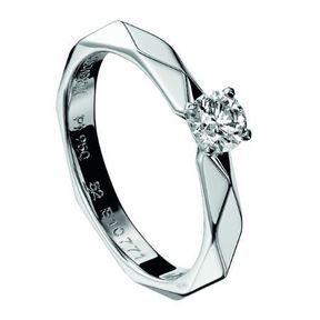 Bague de fiançailles diamant Boucheron 2014