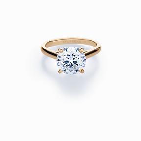 Bague de fiançailles diamant De Beers 2014