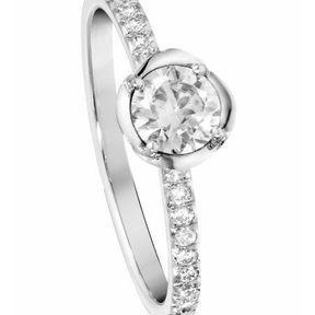 Bague de fiançailles diamant Piaget 2014
