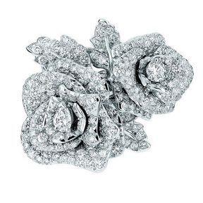 Bague de fiançailles diamants Dior