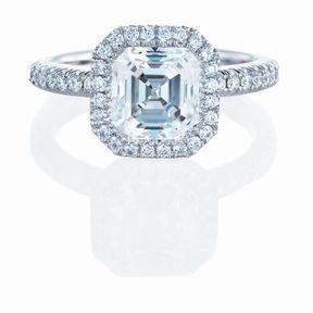 Bague de fiançailles en diamant De Beers