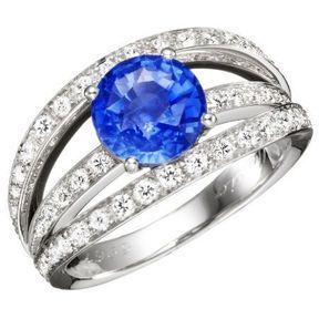 Bague de fiançailles en diamant Mellerio dits Meller 2014