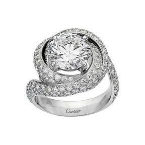 Bague fiançaille Cartier 2014