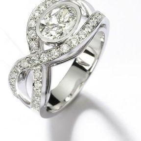 Bague fiançaille diamant Mellerio dits Meller 2014