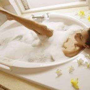 Un bain de star
