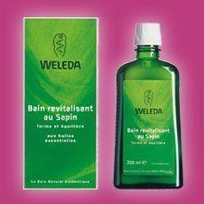 Weleda: Bain revitalisant au sapin