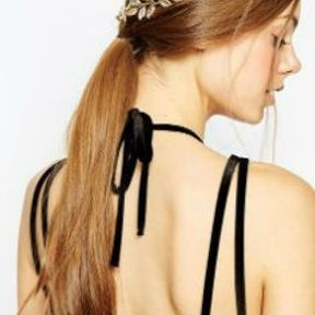 Barrette cheveux couronne