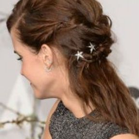 Barrette cheveux étoilée
