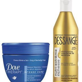 Shampoing/soin : adieu les cheveux secs !