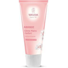 Crème mains confort à l'amande de Weleda