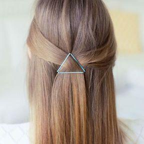 Bijou de cheveux triangle