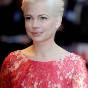 Blond platine bleached Michelle Williams