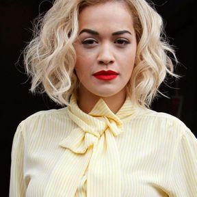 Blond platine Rita Ora