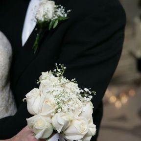 Bouquet blanc mariée