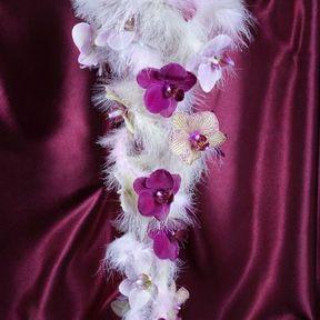 Bouquet de mariée orchidée