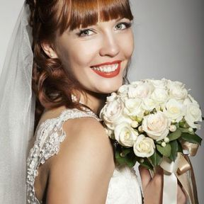 Bouquet mariée blanc