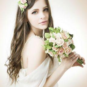 Bouquet mariée boule
