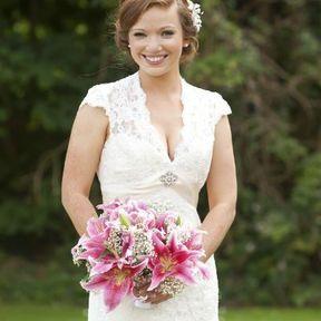 Bouquet mariée lys
