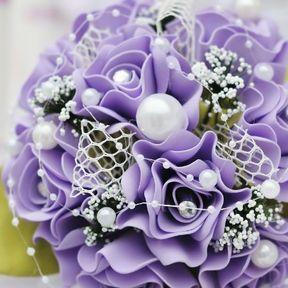 Bouquet mariée original sans fleur