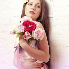 Bouquet mariée pivoine