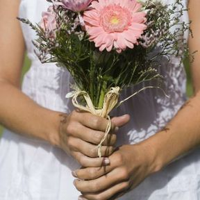 Photo bouquet mariée