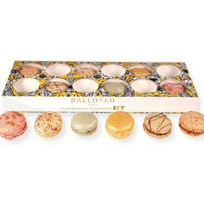 Coffret de macarons Dalloyau X IFF