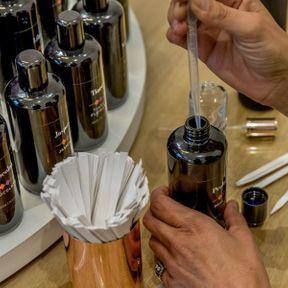 Un atelier création de parfum avec Molinard