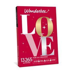 La box LOVE de Wonderbox