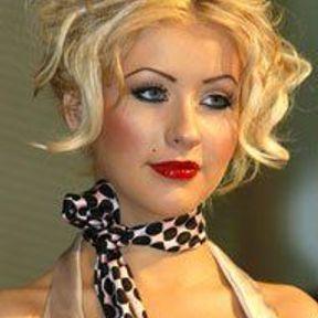 Blonde pin-up