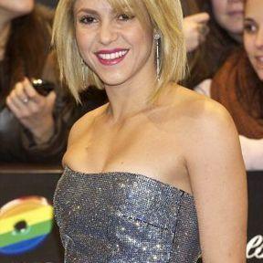 Le carré lisse de Shakira