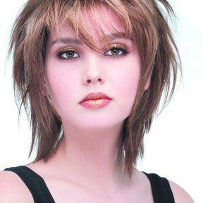 Cheveux coupe degrade femme