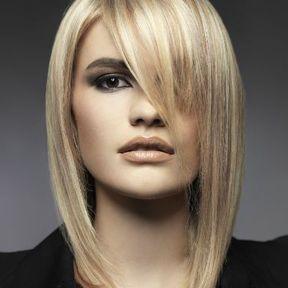 Carré long lisse automne-hiver 2015 @ Véronique Dumazet pour L'Oréal Professionnel
