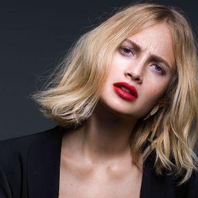 Coupe carré long femme - Claude Tarantino pour L'Oréal Professionnel PE 2015
