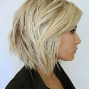 Coupe de cheveux concave court