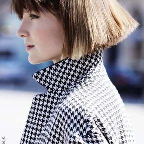 Coupe carré plongeant cheveux automne-hiver 2016 @ Jean-Louis David