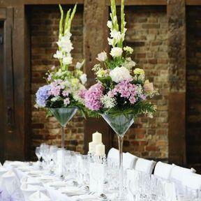 Centre de table mariage champêtre