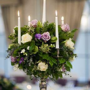 Centre de table mariage fleur
