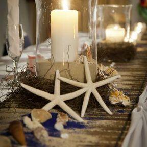 Vase décoration mariage