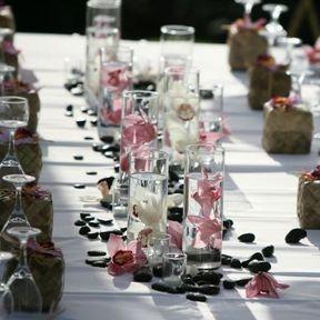 Vase mariage centre de table
