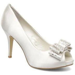 Chaussures blanches mariage Menbur printemps été 2014