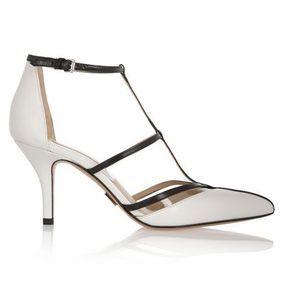 Chaussures blanches mariage Michael Kors printemps été 2014