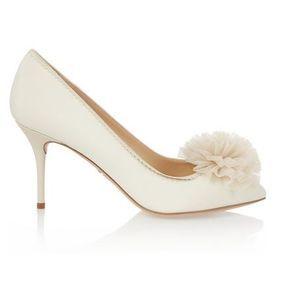 Chaussures mariage ivoire Charlogtte Olympia printemps été 2014