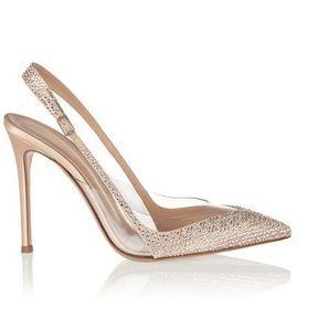 Chaussures mariage ivoire Gianvito Rossi printemps été 2014