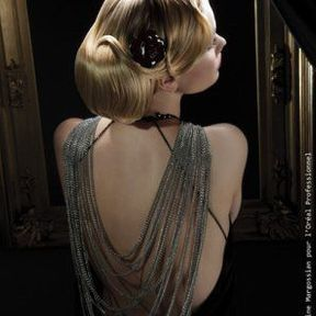 Coiffure cheveux attachés @ Magnificence
