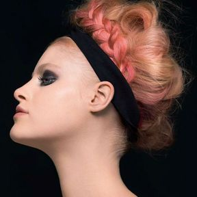 Coupe cheveux attachés printemps été 2014 @ Claude Tarantino L'oréal Professionnel