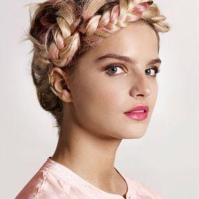 Coupe cheveux attachés printemps été 2014 @ Véronique Dumazet L'oréal Professionnel