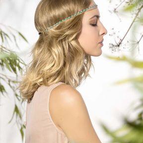 Idée coiffure cheveux attachés printemps-été 2015 @ Saint Algue