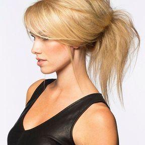 Modèles de coiffure cheveux attachés automne hiver 2014 © Eric Bachelet
