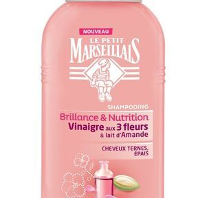 Le shampooing Brillance & Nutrition du Petit Marseillais