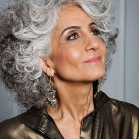 Inspiration cheveux gris